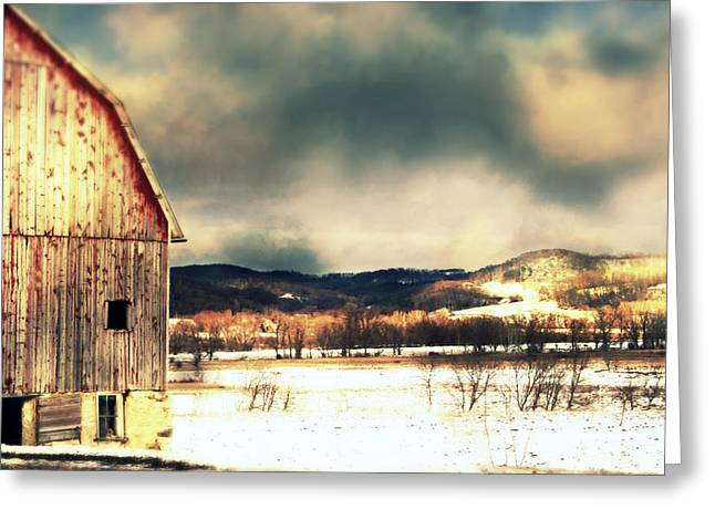 Over Yonder Greeting Card by Julie Hamilton