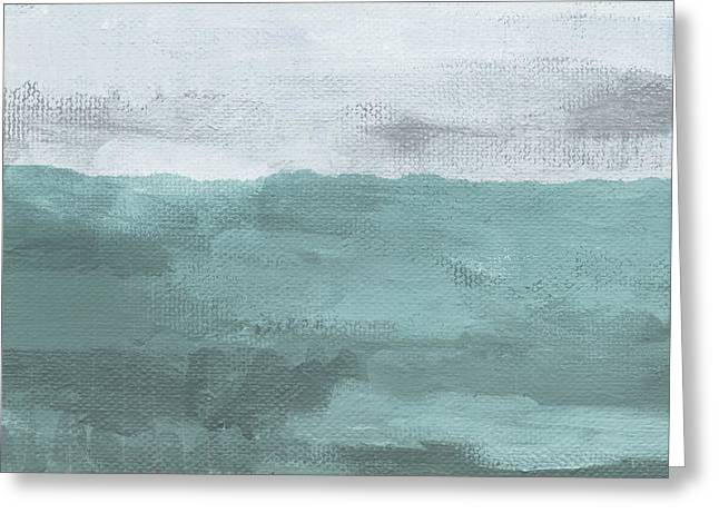 Overcast- Art By Linda Woods Greeting Card by Linda Woods