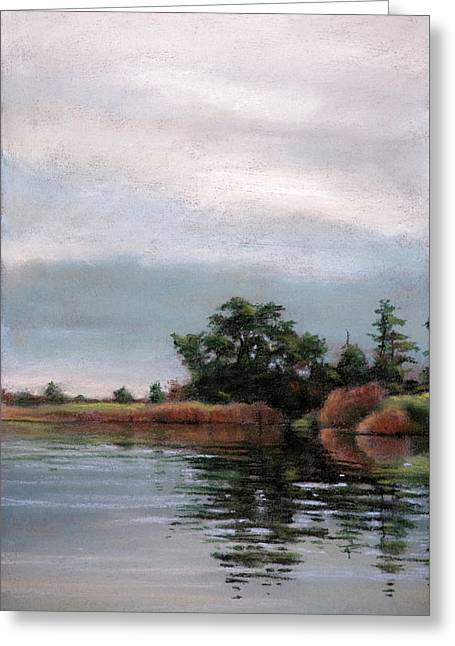 Overcast Island Greeting Card