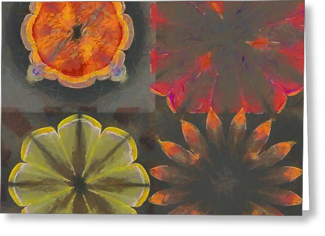 Overfrequent Bare Flower  Id 16165-012748-66990 Greeting Card by S Lurk