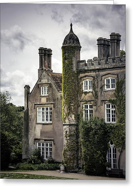 Overgrown Mansion Greeting Card