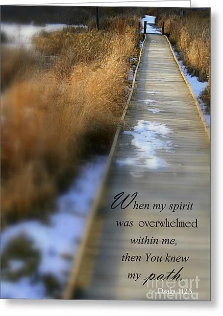 Overwhelmed Greeting Card by Debra Straub