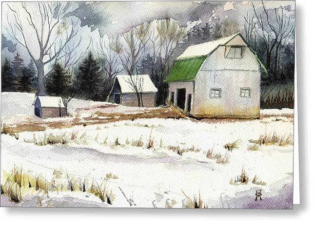 Owen County Winter Greeting Card
