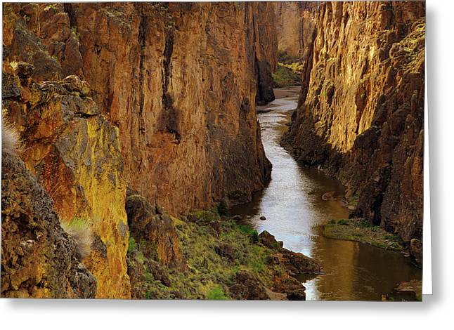 Owhyee River Greeting Card