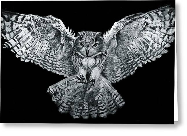 Owl 1 Greeting Card