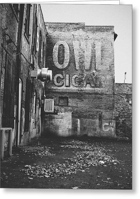 Owl Cigar- Walla Walla Photography By Linda Woods Greeting Card by Linda Woods