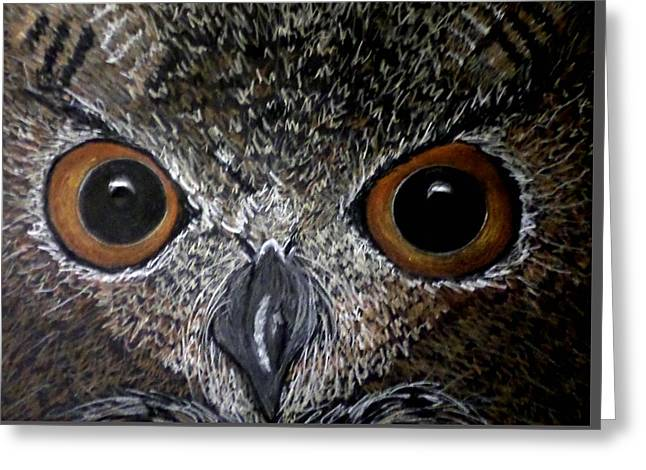 Owl Enlightened Greeting Card