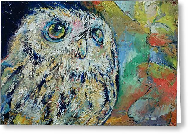 Owl Greeting Card
