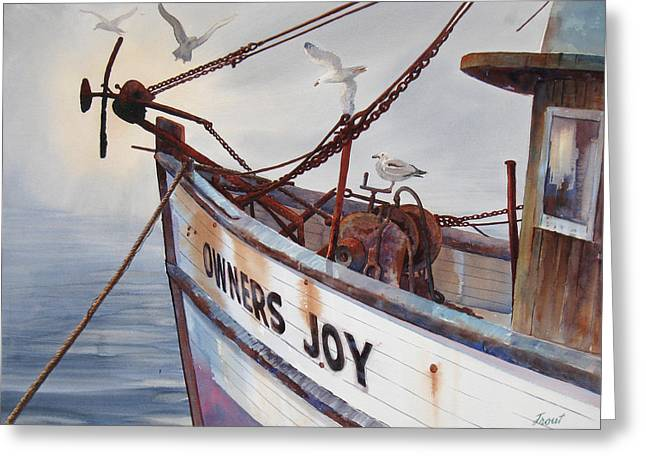 Owners Joy Greeting Card by Don Trout