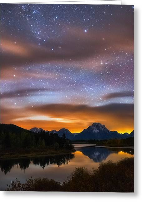 Oxbow Dreams Greeting Card by Darren White