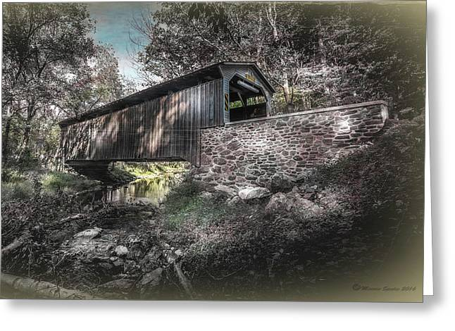 Oxford Covered Bridge Greeting Card