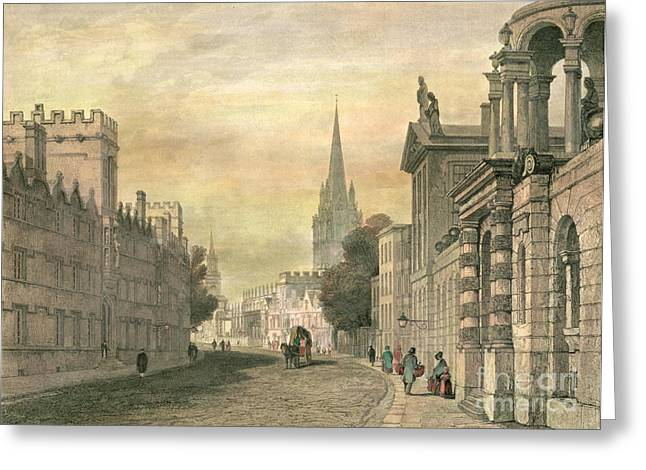 Oxford Greeting Card by G Hollis