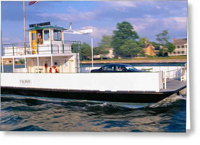 Oxford To Bellevue Ferry, Continuous Greeting Card by Panoramic Images