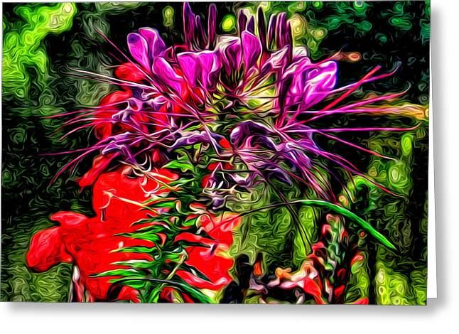 Oy Vey So Pretty Greeting Card by Kevin  Sherf