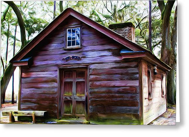 Oyster House On  Henry Ford Plantation Greeting Card