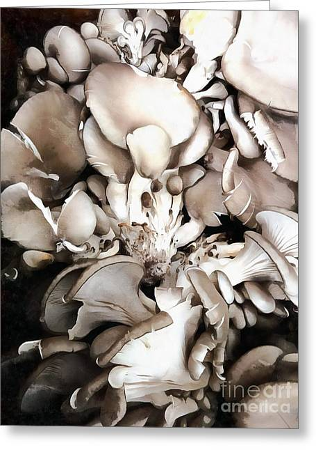 Oyster Mushrooms - Fruit Of The Forest Greeting Card