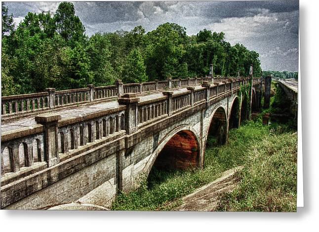 Ozark Alabama Bridge Greeting Card