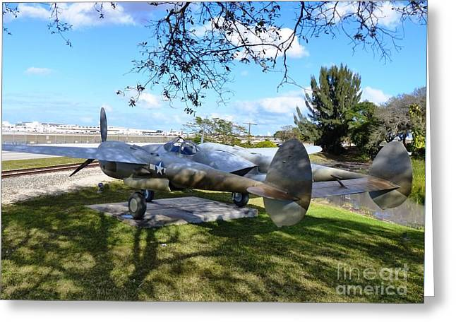 P-38 - Lightning Aircraft Greeting Card