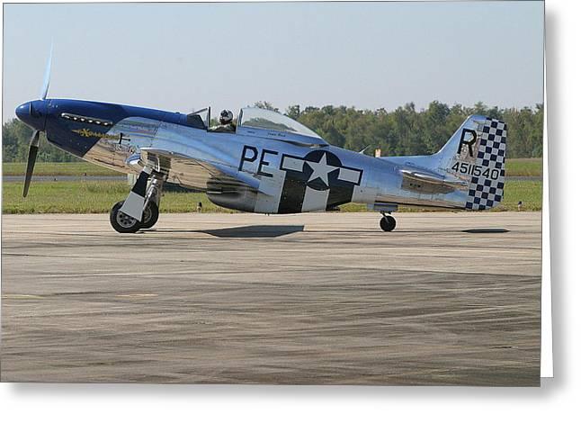 P-51 Mustang Greeting Card by Donald Tusa