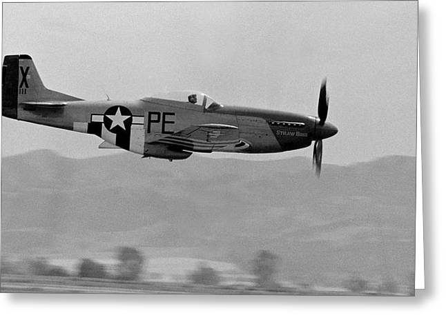 North American P51 Mustang Photographs Greeting Cards - P-51d Greeting Card by BuffaloWorks Photography