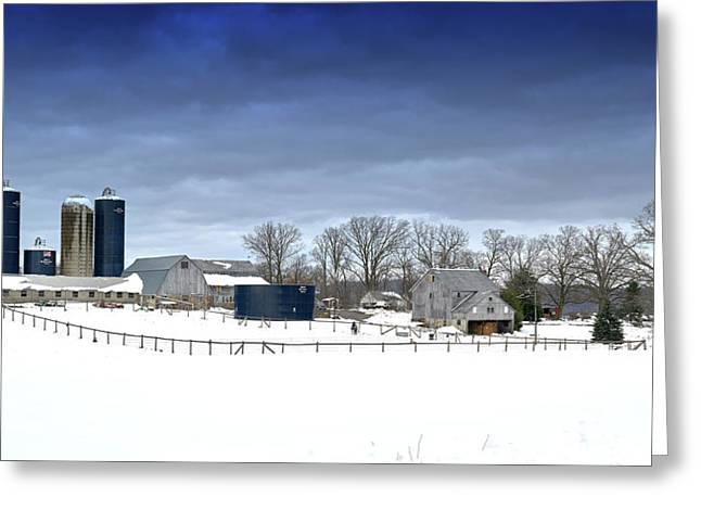 Pa Farm Greeting Card