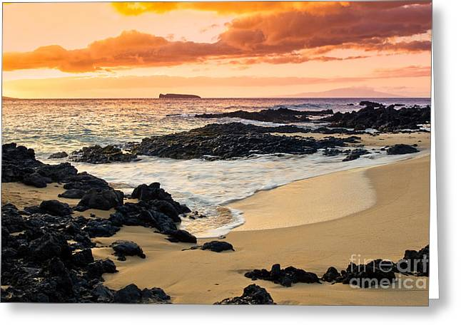 Paako Beach Dreams Greeting Card by Sharon Mau