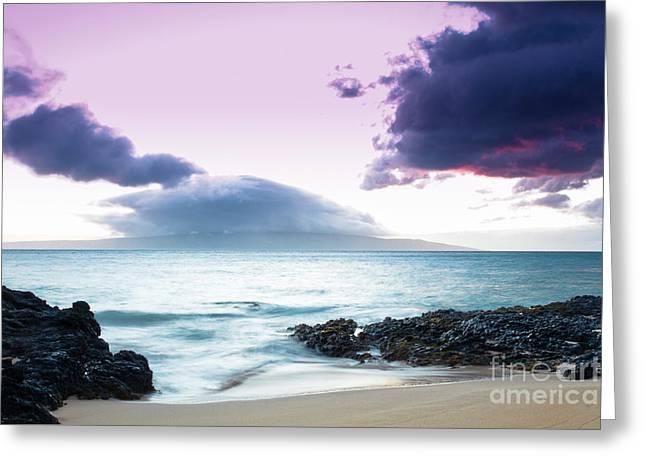 Paako Beach Treasures Greeting Card by Sharon Mau