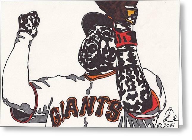 Pablo Sandoval Giants Greeting Card