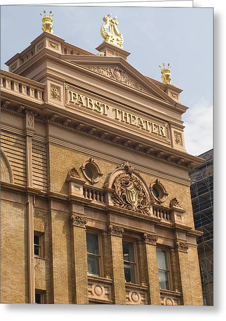 Pabst Theater Greeting Card by Peter Skiba