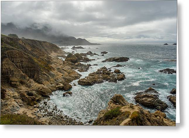 Pacific Coast Greeting Card by Brad Monahan
