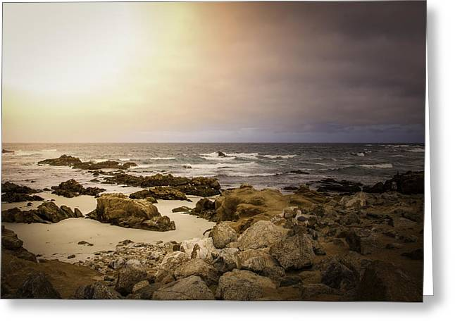 Greeting Card featuring the photograph Pacific Coastline by Ryan Photography