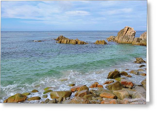 Pacific Grove Coast Greeting Card