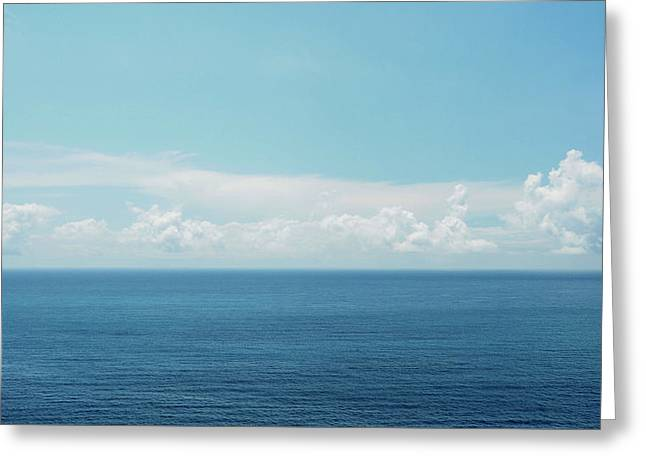 Pacific Ocean Greeting Card