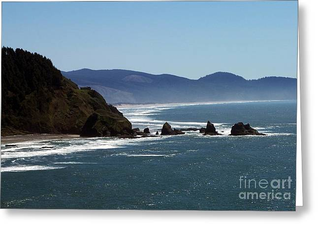 Pacific Ocean View 2 Greeting Card