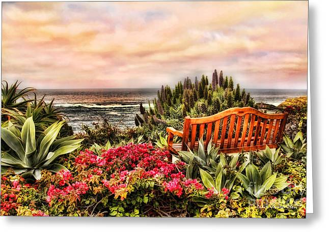 Pacific Ocean View Greeting Card