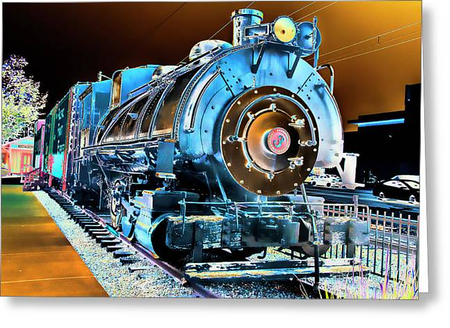 Pacific Southwest Railway And Meseum Greeting Card by Daniel Hebard