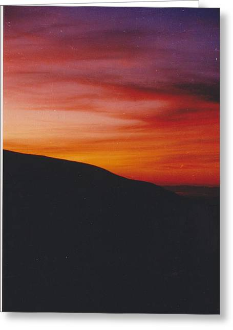 Pacific Sunset I Greeting Card