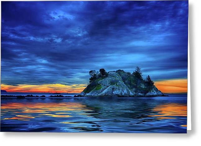 Greeting Card featuring the photograph Pacific Sunset by John Poon