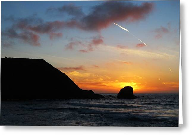 Pacifica 10 Greeting Card by John King