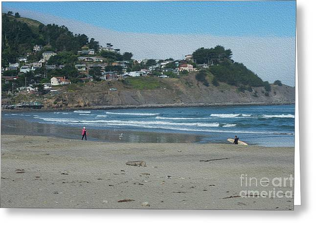 Greeting Card featuring the photograph Pacifica California by David Bearden