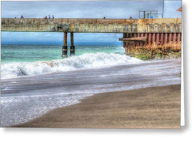 Pacifica Pier  Greeting Card