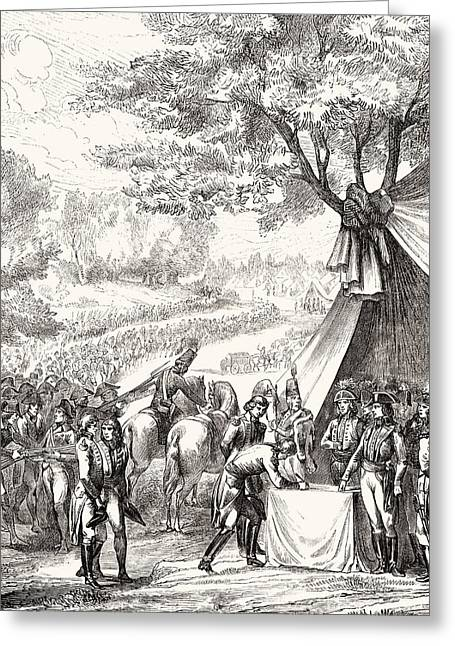 Pacification Of The Vend E, 1793. From Greeting Card by Vintage Design Pics