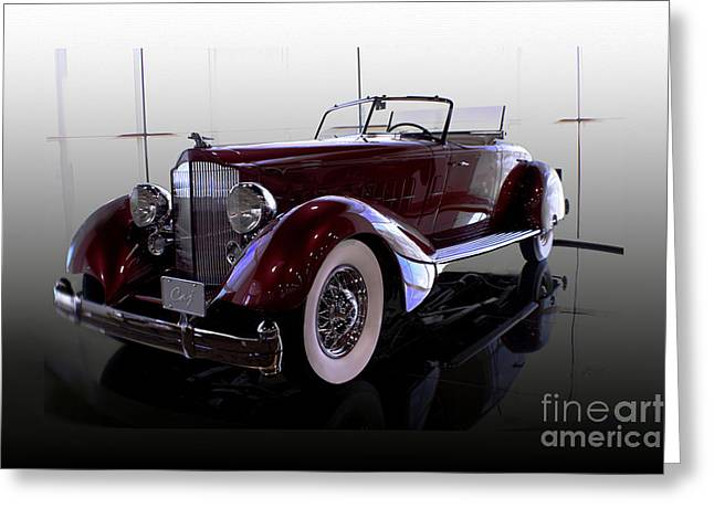 Packard Convertable Greeting Card