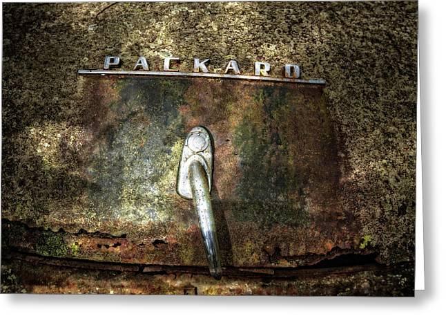 Packard Emblem Greeting Card