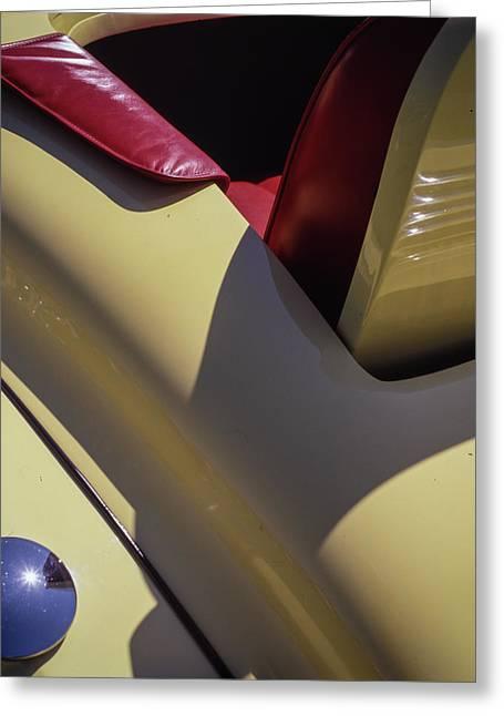 Packard Rumble Seat Greeting Card