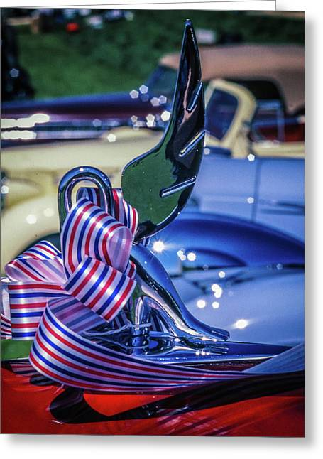 Packard Swan Greeting Card