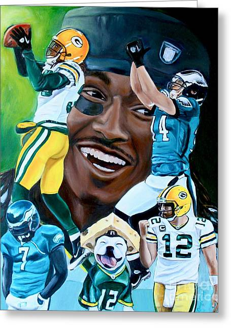 Packers  Glorious Moments Greeting Card