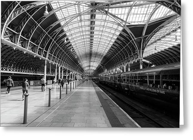 Greeting Card featuring the photograph Paddington Station by Joe Paul