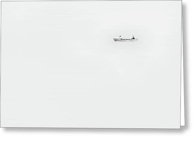 Paddle On Lake Monona Greeting Card by Scott Norris