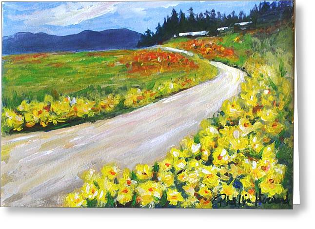 Padilla Trail Greeting Card